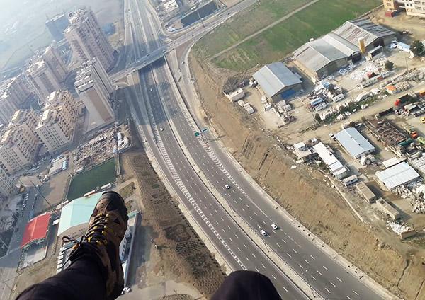 باشگاه هوایی اوج - پاراگلایدر - تهران